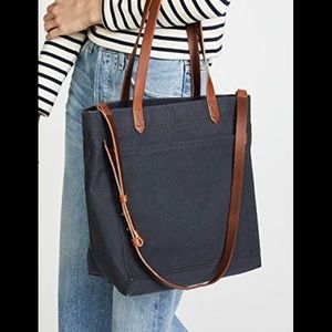 Madewell Navy Canvas Bag